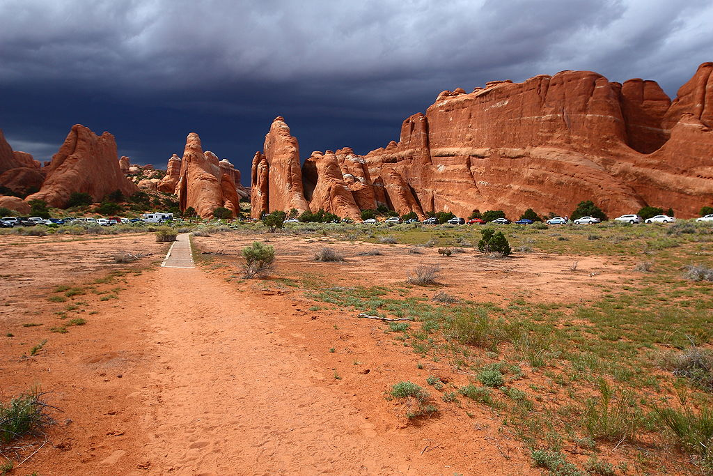 Devil's Garden at Arches National Park