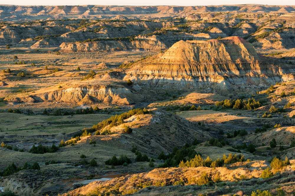 Take on the Badlands at Theodore Roosevelt National Park South Unit
