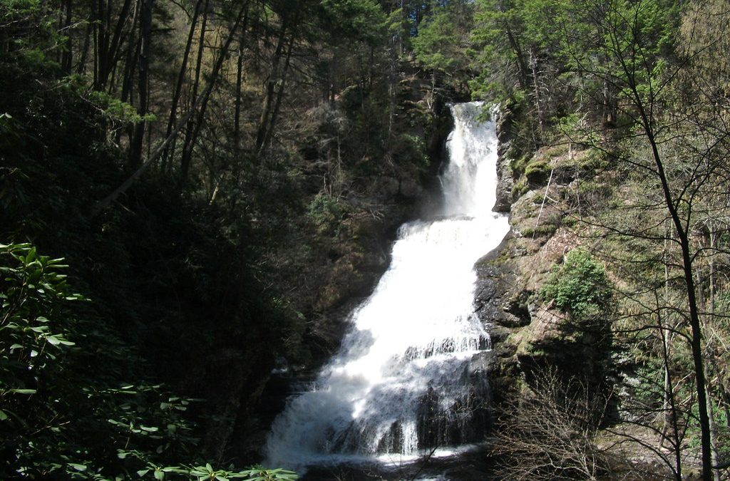 Visit Dingmans Falls to Drink in the Sights of Pennsylvania