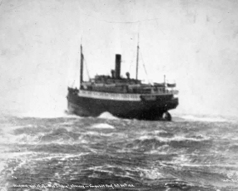 The Princess Sophia Shipwreck