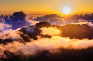 haleakala national park sunrise