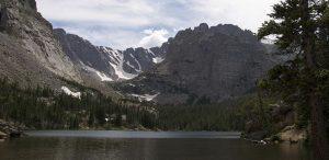 The Loch near Sky Pond in Rocky Mountains National Park