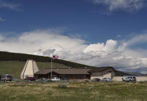 Visitor center at big hole national battlefield