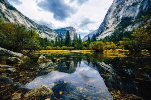 Mirror Lake at Yosemite national parks