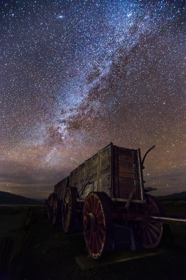 Stargazing in Death Valley is one of the national park activities of a lifetime