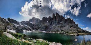 Sky Pond at Rocky Mountains National Park
