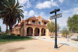 Historic Kelso Depot in the Mojave National Preserve Desert