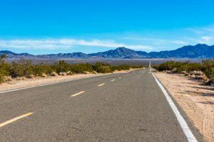 Mojave Desert hiking trails at Mojave National Preserve