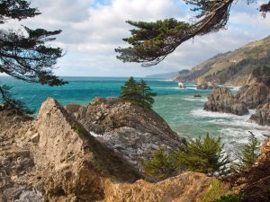 Julia Pfeiffer Burns State Park ocean view