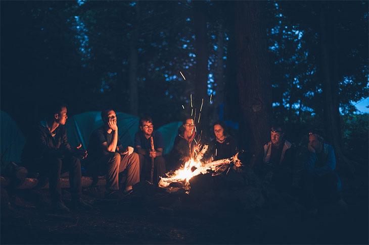 camping, Calaveras State Park