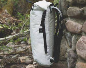 White Ultralight Backpack