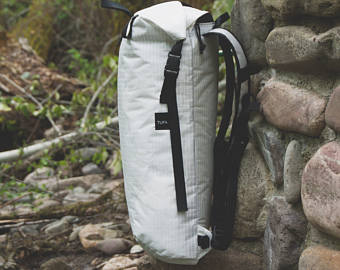 White Ultralight Backpack