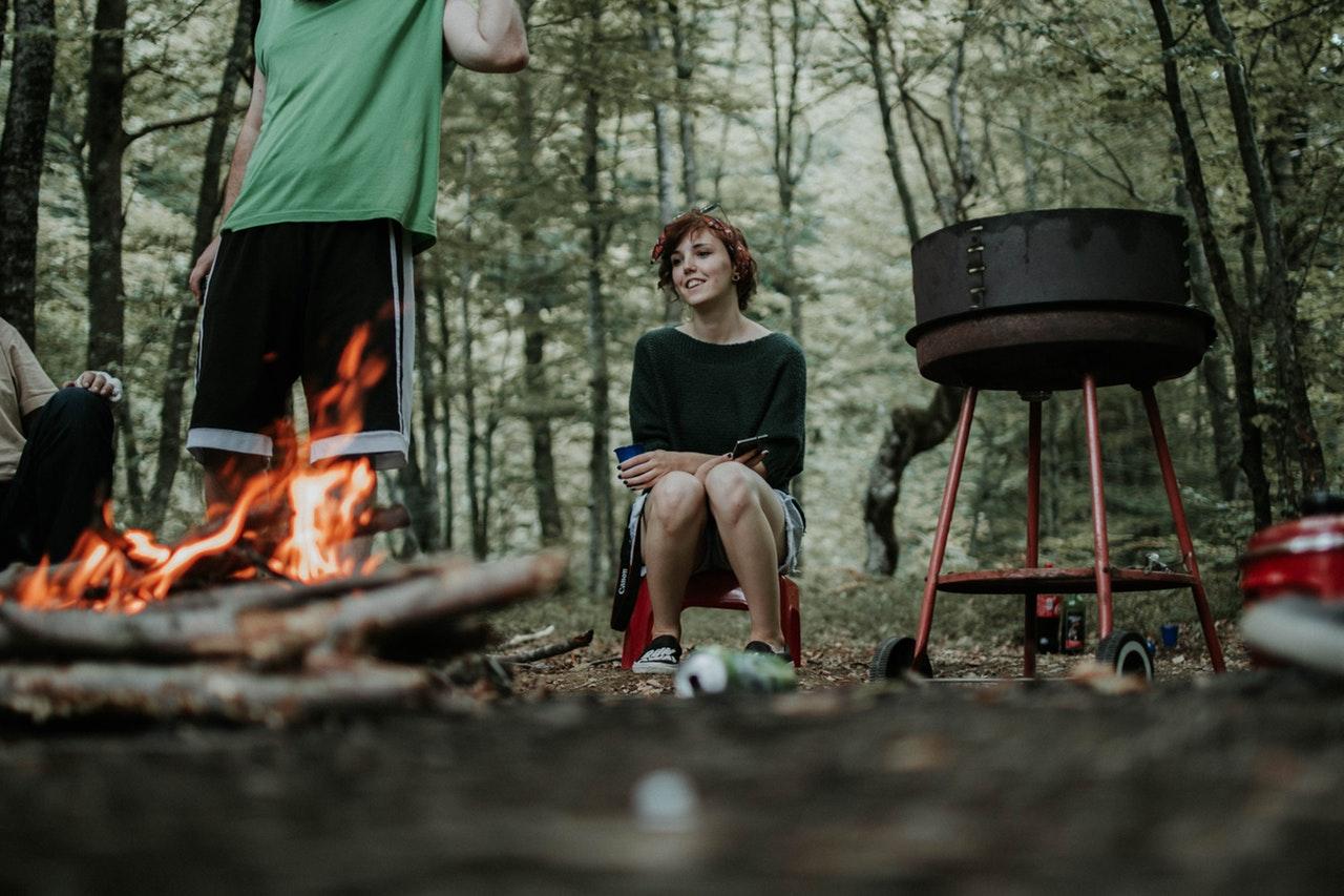 Camping at Calaveras Big Trees State Park