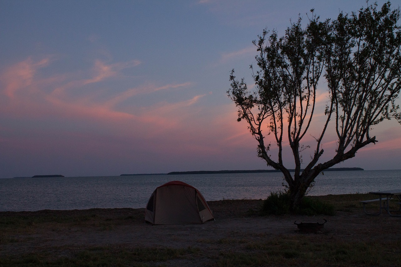 Camping at Everglades National Park