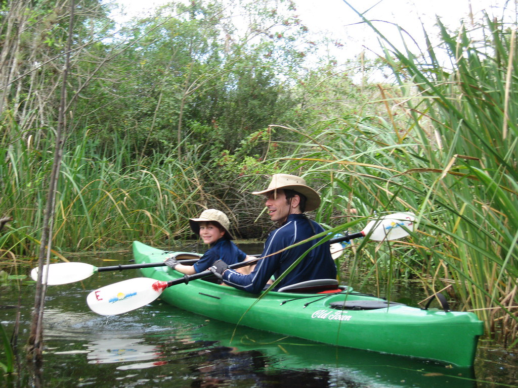 Kayaking at the Everglades National Park