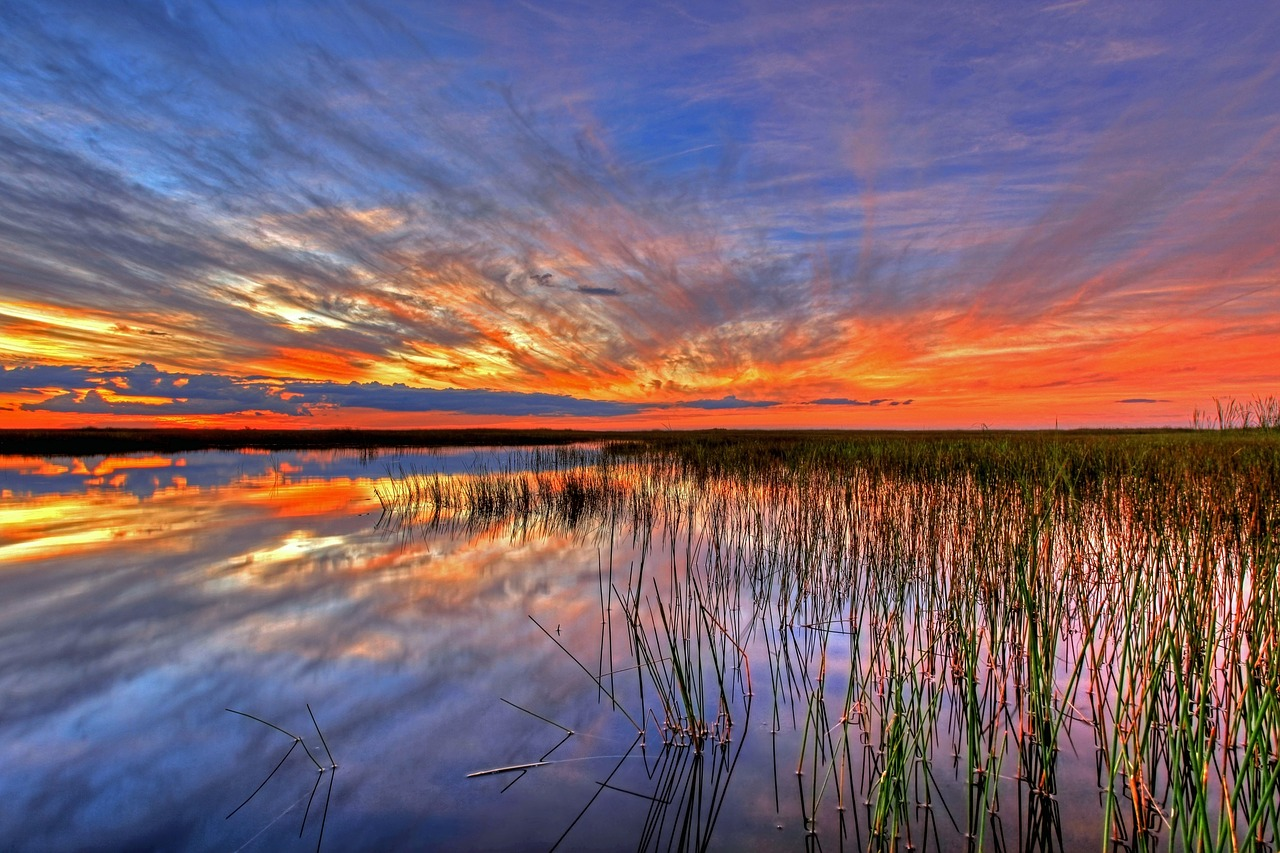 Sunset at Everglades National Park