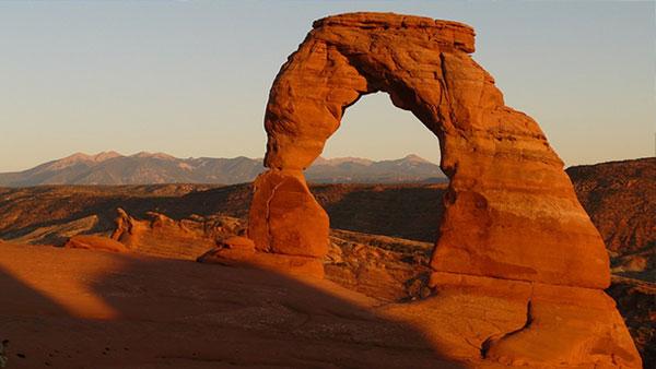 delicate arch stone in Utah