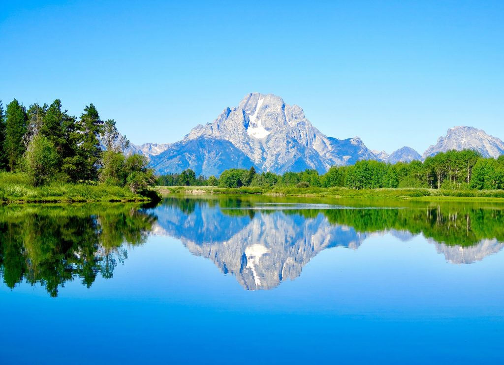 Oxbow Lake at Grand Teton, which offers national park travel packages